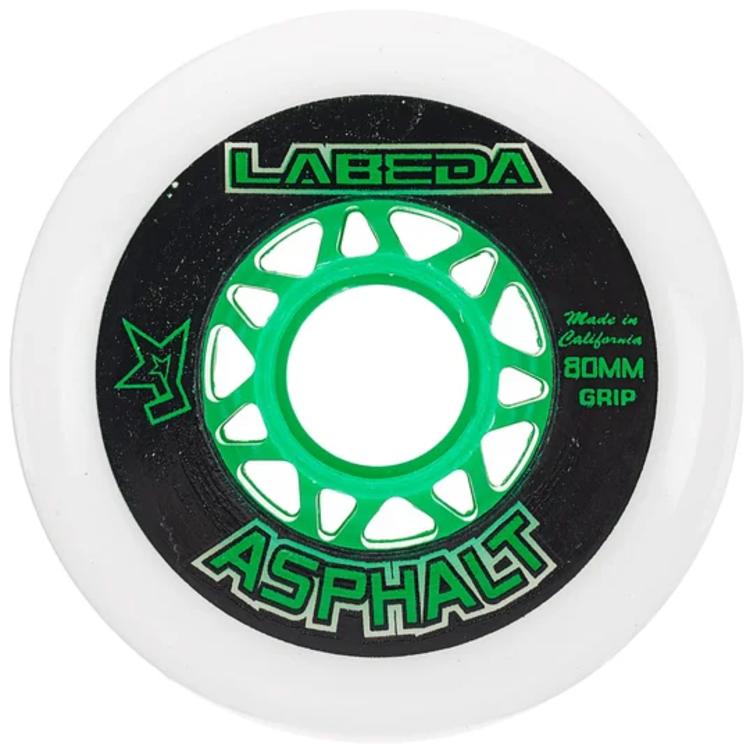 Labeda Labeda Asphalt Outdoor Wheel - 83a - 4 Pack - White