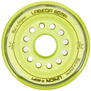 Labeda Labeda Union Wheel - X-Soft - 4 Pack