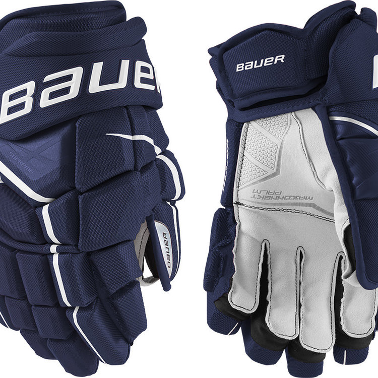 Bauer Bauer S21 Supreme UltraSonic Hockey Glove - Intermediate