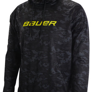 Bauer Bauer Camo Tech Hoodie - Senior - Black