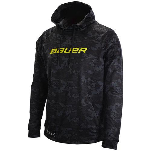 Bauer Bauer Camo Tech Hoodie - Youth - Black
