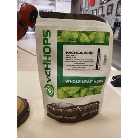 YCHHOPS Leaf Hops, Dom, Mosaic 1oz