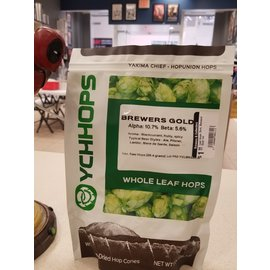 YCHHOPS Leaf Hops, Dom, Brewers' Gold 1oz