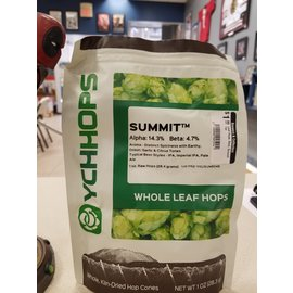YCHHOPS Leaf Hops, Dom, Summit 1oz