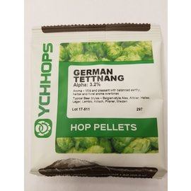 YCHHOPS 1 oz  German Tettnang Pellets
