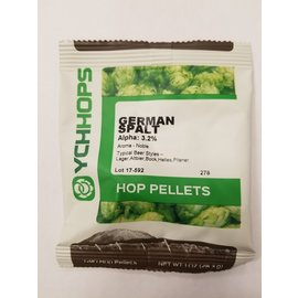 YCHHOPS 1 oz German Spalt Pellets