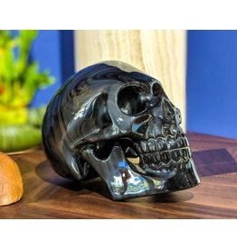 Rainbow Obsidian Skull 23x17x13cm 4.75kg Mexico