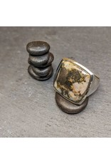 Sanchi and Filia P Designs Pyrite Agate Ring 9