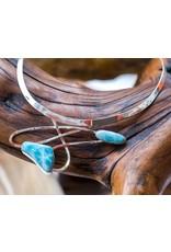 Special Concept Larimar Collar Necklace