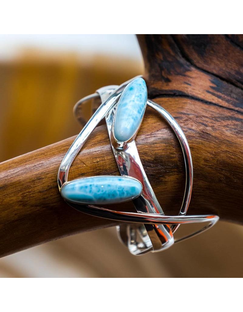 Special Concept Larimar Cuff Bracelet