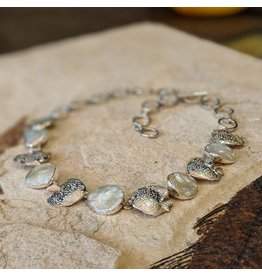 Special Concept Fish Pearl SS Necklace