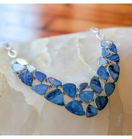 Opal Doublet SS Necklace