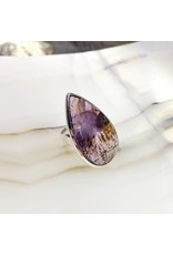 Cacoxenite Amethyst Ring 6