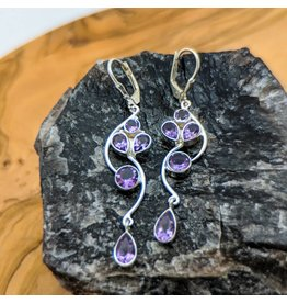 Sterling Silver Dangle Earring
