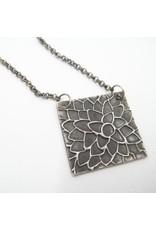 Sixteen50 Dahlia Necklace and Dark Chain