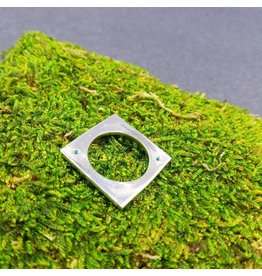 Sixteen50 Square Sterling Silver Ring