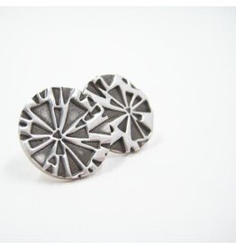 Sixteen50 Shattered Circle Post Earrings