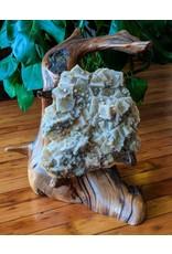 Little River Woodworks Quartz Fluorite Mountain Laurel Root