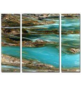 Mike Woodward Photography Peruvian Blue Opal Triptych 152x101cm
