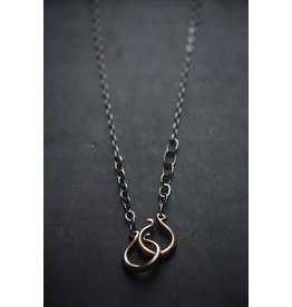 "Miki Tanaka ""Beginning and End"" Necklace 595mm"