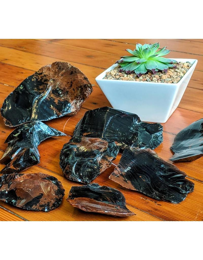 Juno Rare & Fine Mahogany Obsidian Oregon