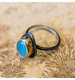 Bora Jewelry Chalcedony Ring 7.5