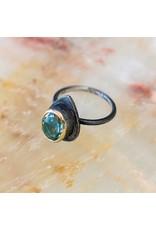 Bora Jewelry Blue Quartz Ring 8