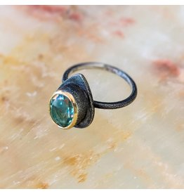 Bora Jewelry Blue Quartz Ring 8