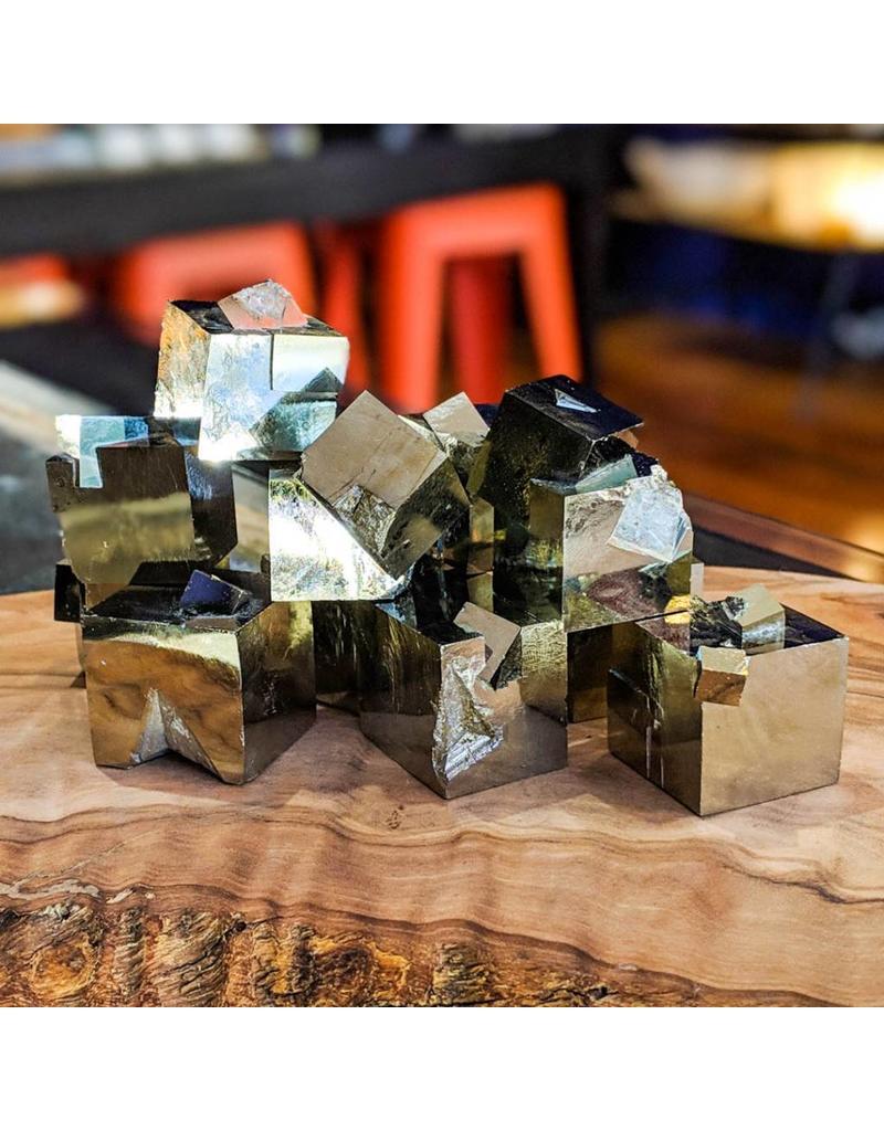 Pyrite Crystal Cluster Navajún Spain