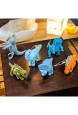 Roost Dancing Dinosaur Ornament