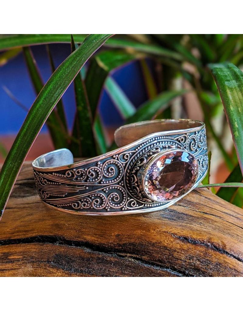 Sterling Creations Ametrine Vintage Bracelet