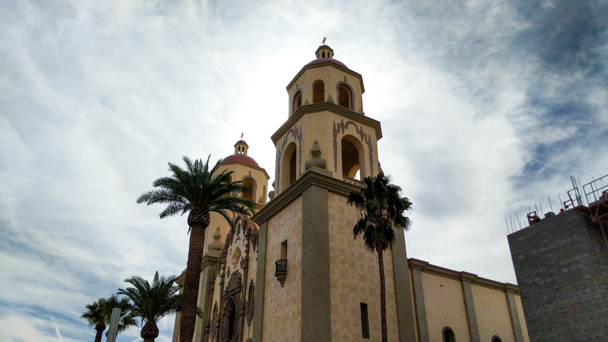 St Augustine Cathedral, at S Stone Ave and E Corral St