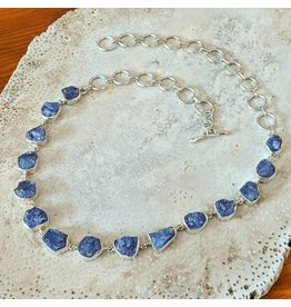 Tanzanite SS Necklace