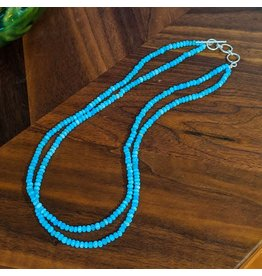 Sanchi and Filia P Designs Larimar Bead Necklace