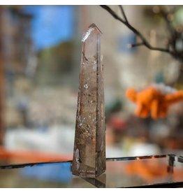 Smoky Quartz Obelisk 15cm Brazil