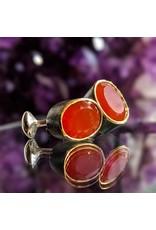 Bora Jewelry Carnelian Cufflinks