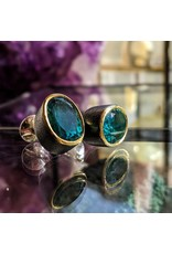 Bora Jewelry Blue Quartz Cufflinks