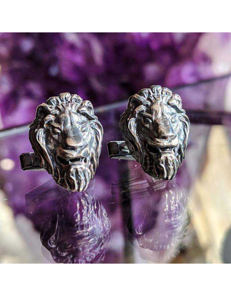 Bora Jewelry Lion Cufflinks