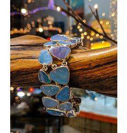 Opal Doublet SS Bracelet