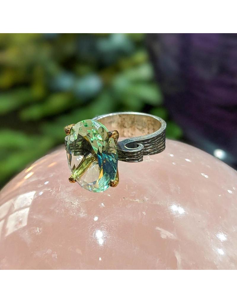 Bora Jewelry Prasiolite Ring 5.5