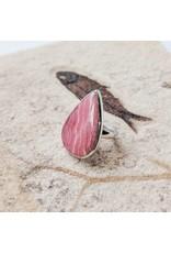 Sterling Creations Rhodochrosite Ring