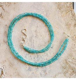Sanchi and Filia P Designs Two-Strand Bead Necklace