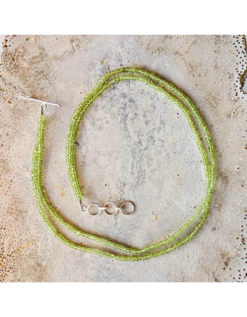Two-Strand Bead Necklace