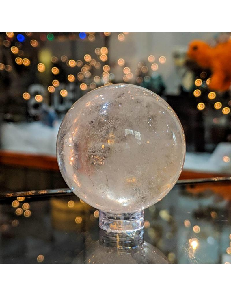 Village Originals Clear Quartz Sphere 65mm 362g