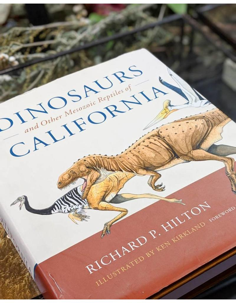Dinosaurs and Other Mesozoic Reptiles of California (Very good condition Used Hardback)