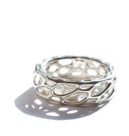 Nervous System Cell Cycle Silver Ring