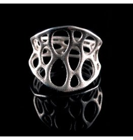 Nervous System Cell Cycle 1-layer Stainless Steel Ring 7