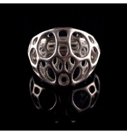 Nervous System Cell Cycle 2-layer Stainless Steel Ring 8
