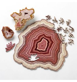 Nervous System Geode Birch Plywood Puzzle