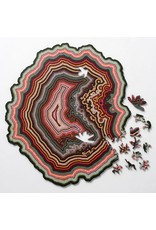 Nervous System Orbicular Geode Birch Plywood Puzzle